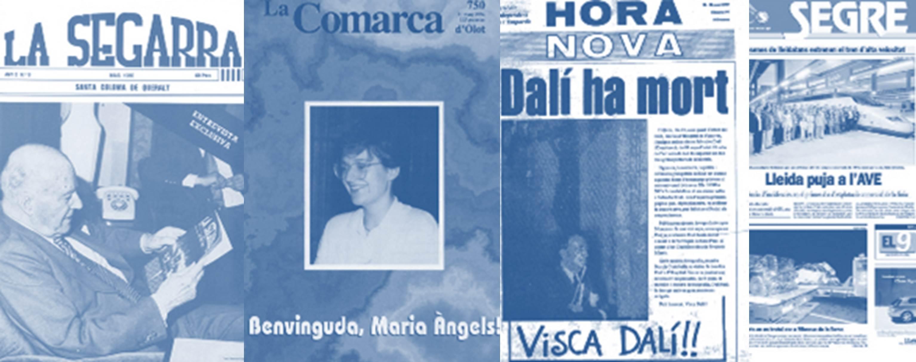 L'ACPC celebra 35 anys publicant les portades dels fets més destacats succeïts a Catalunya