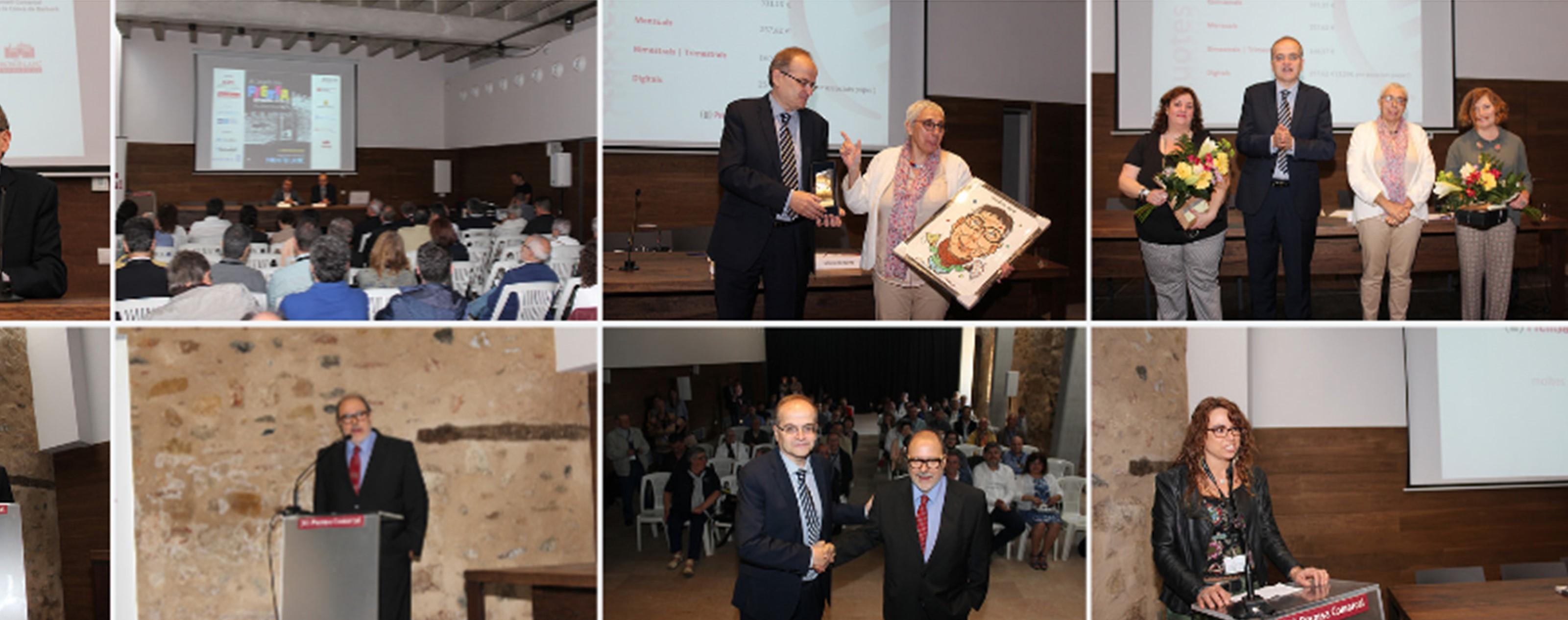 Les imatges del Congrés i l'Assemblea de l'ACPC celebrada a Montblanc