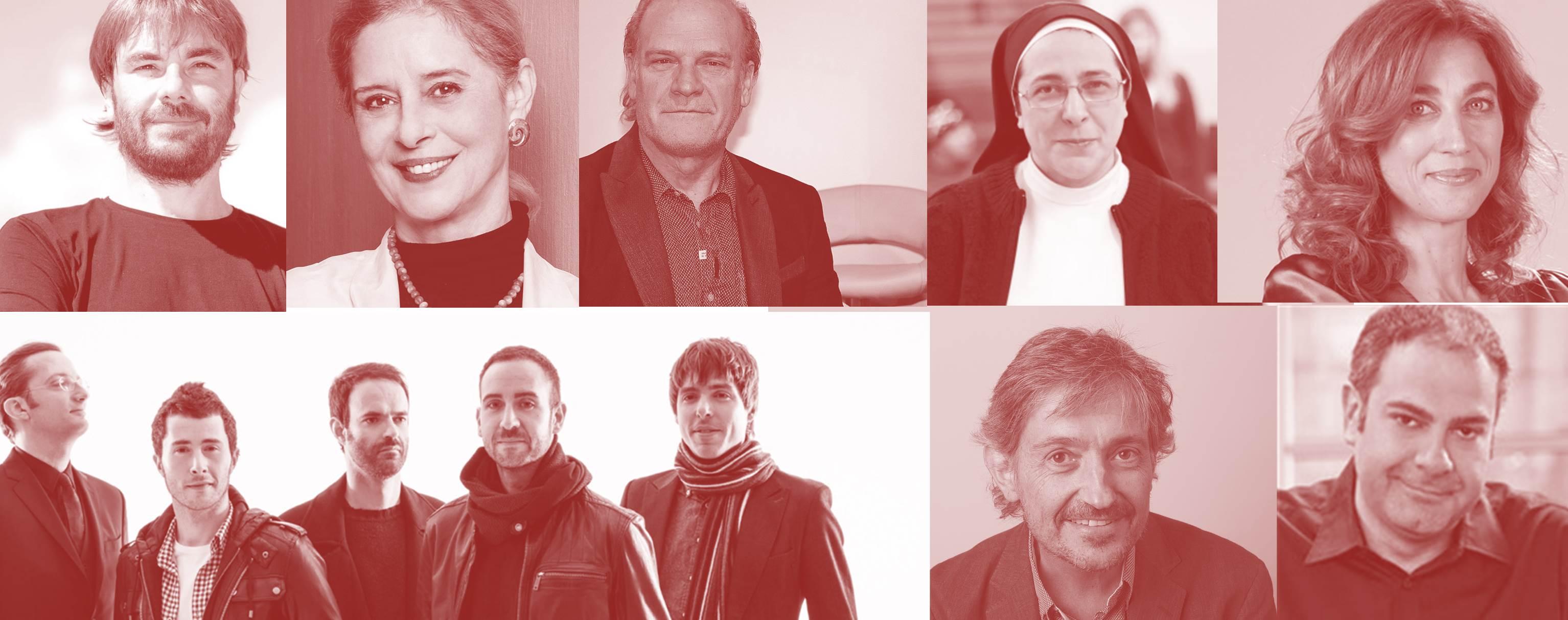 Lluis Homar, Quim Masferrer i Blaumut entre d'altres, a la Gala d'El Vallenc el 17 de setembre