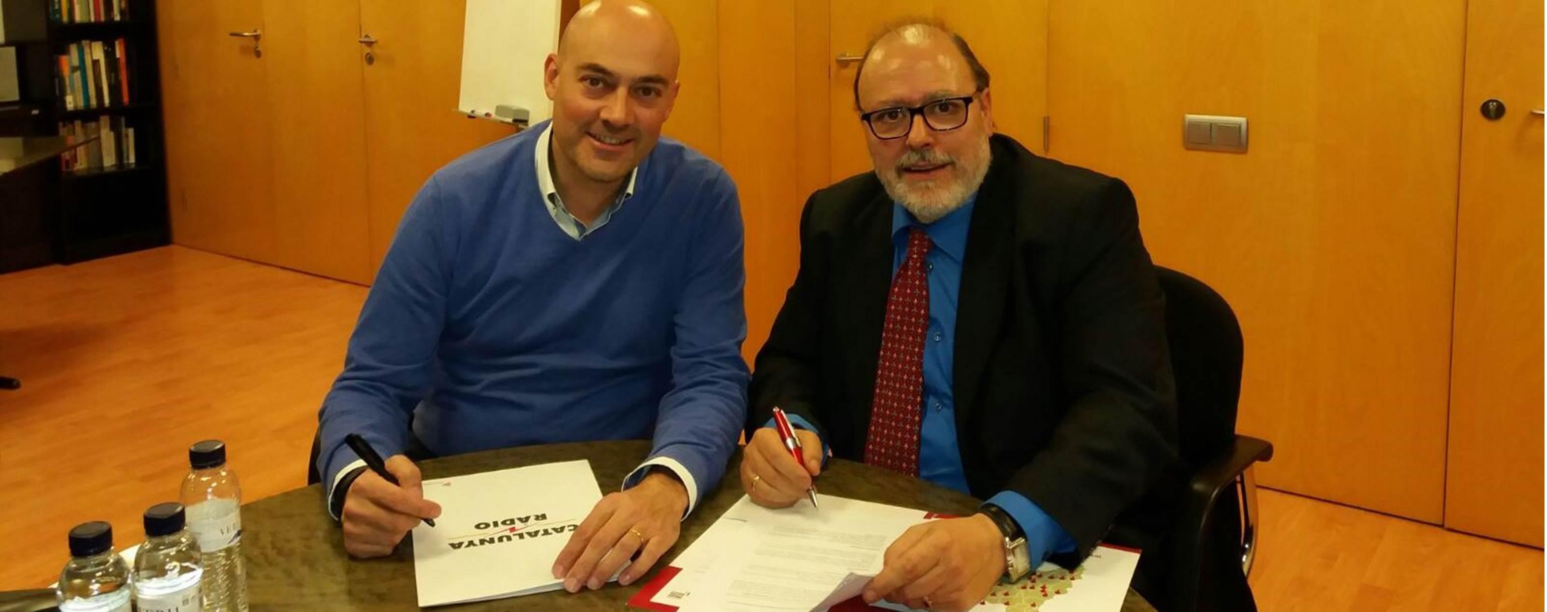 Premsa Comarcal signa un acord de col·laboració amb Catalunya Ràdio