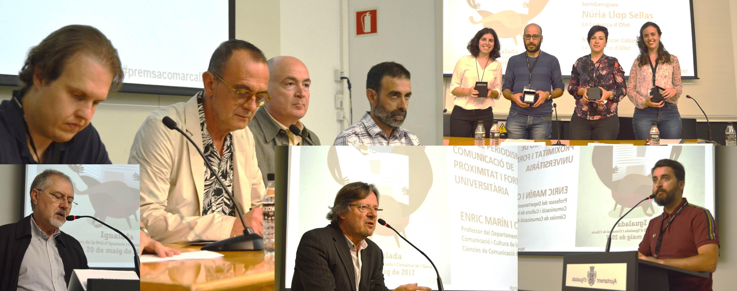 La relació entre jovent, universitat i premsa comarcal a debat a Igualada