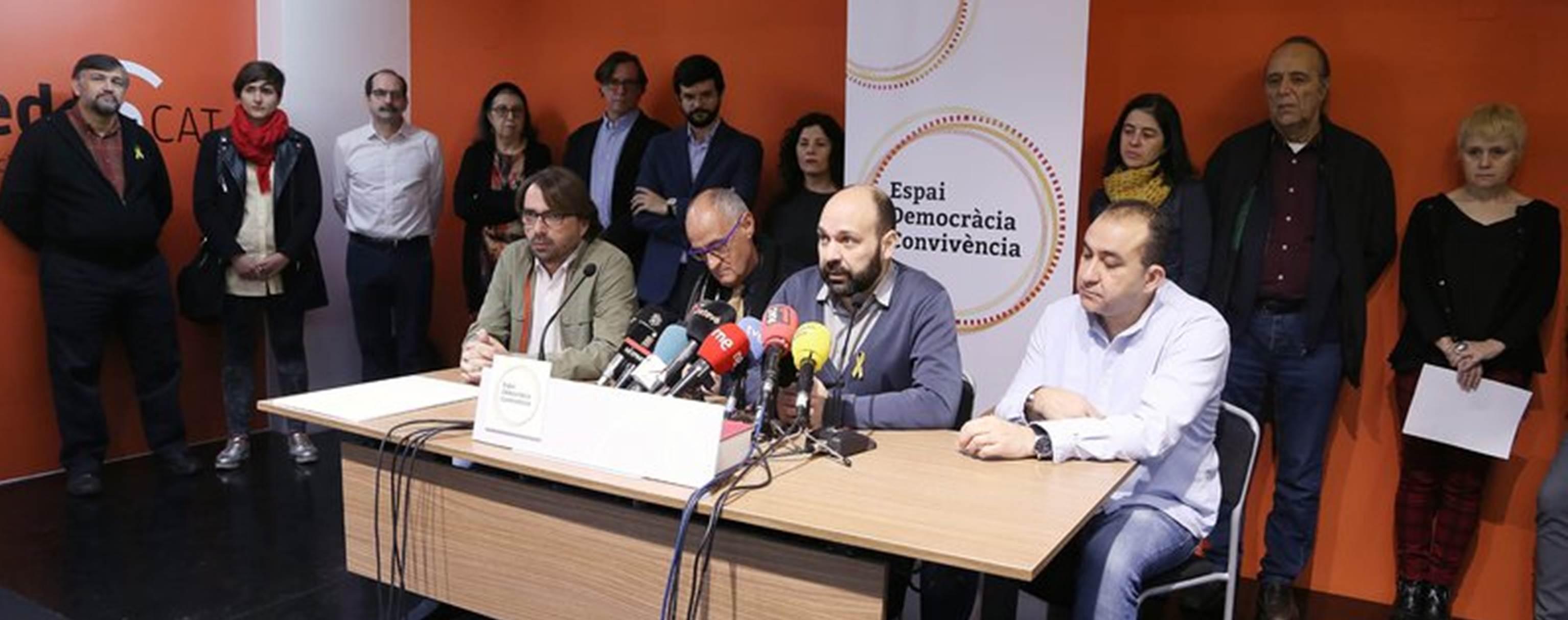 L'ACPC s'adhereix a la plataforma 'Espai Democràcia i Convivència'