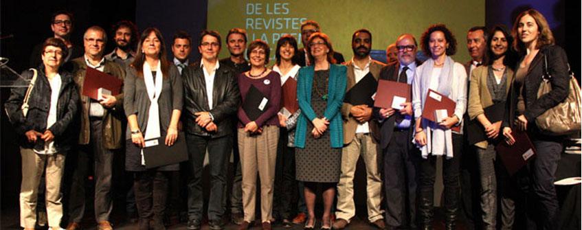 Caliu, El Vallenc, Revista de Banyoles i SomGarrigues, premiats a la Nit